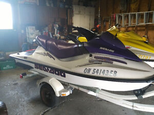 "97 & 03 GTI Seadoo's with Trailer. Looking to ""Trade"" for Boat"