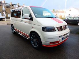2008 08'reg VW Transporter T5 1.9 TDi Campervan**Full Side Conversion**