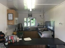 Thriving road side cafe for sale