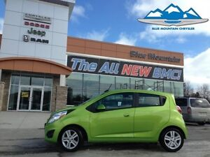 2015 Chevrolet Spark LT  ACCIDENT FREE, MP3/SAT RADIO, EASY FINA