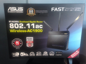 Routeur Asus RT-AC68U comme neuf!