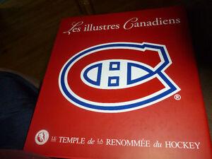 Divers articles et objets des Canadiens de Montréal