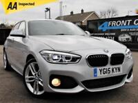 2015 BMW 1 SERIES 120D XDRIVE M SPORT AUTOMATIC 4X4 DIESEL HATCHBACK DIESEL