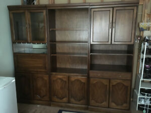 3-Piece Wall Unit - Excellent Condition