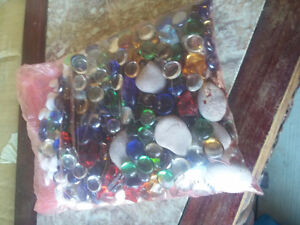 Large pack of assorted decorative marbles stones London Ontario image 3