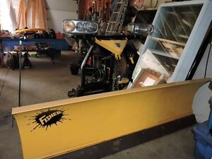 FISHER PLOW - 3 yrs old - lightly used - will email photos