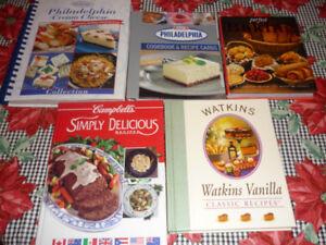 5 Cook Books!