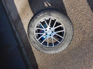 Rims and Winter Tires with Low Mileage (Summer/ Winter 18,000
