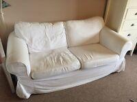 IKEA Ektorp 2 seater sofa.