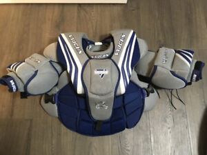 Vaughn Goalie Chest Protector Youth M