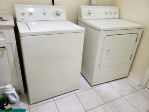 Kenmore 80 series washer and dryer matching set