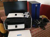 HP PC and Dell printer