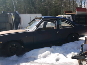 1976 Chevy Nova 2 door parts car