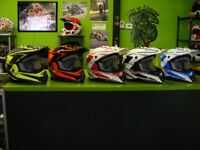 Great MX / ATV helmets - Lightweight & Quick Strap at RE-GEAR Kingston Kingston Area Preview