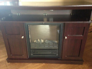 Electric fire place / tv stand