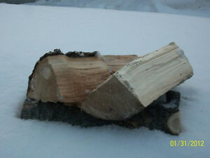 1 -2 TREES FIREWOOD Dry, split Spruce and Jackpine FREE DELIVERY