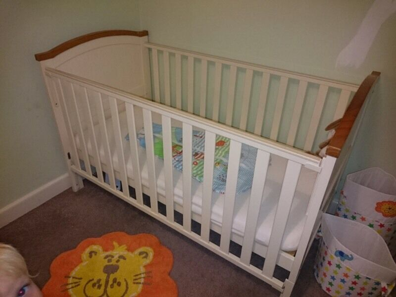 Cot bed. Henleys toys R us