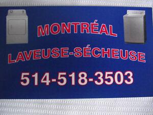 laveuse secheuse montreal 150$ chaque + 20$ de transport