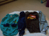 boys size 3 mos fall/winter clothes lot b