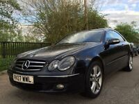 Mercedes CLK 200 compressor 1.8 auto 1 owner 3 months warranty
