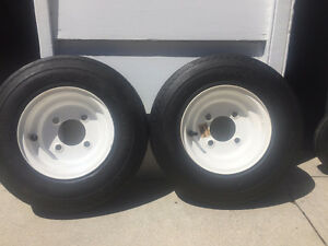 Pair of Boat Trailer tires