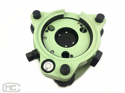 Brand New Green Three-jaw Tribrach With Optical Plummet For Leica Total Station