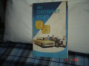 "Old ""Chevrolet Story"" books"