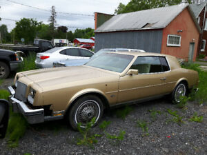 Parting out 1985 Buick Riviera