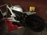 Yamaha r6 hpi clear 2co