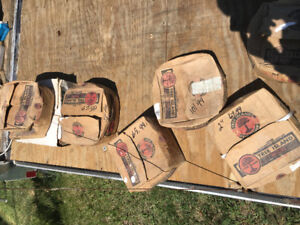 "50 lb boxes phousphur coated 2 ""1/4-3/""1/2"