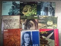 Collection of Bach records in excellent condition
