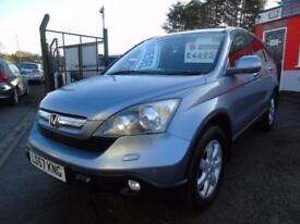 2007 Honda CR V ES I Ctdi FSH,2 keys,12 months mot,Warranty,Px welcome 5 door...