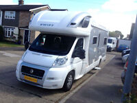 Swift Kon Tiki 645, Sleeps 5 with 4 Seat Belts, 2007, Urgent Viewing Recommended