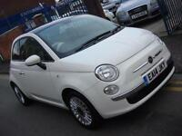 2014 14 PLATE Fiat 500 1.2 LOUNGE 3dr in White