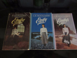 Series of Emily of New Moon 3 bks - L M Montgomery