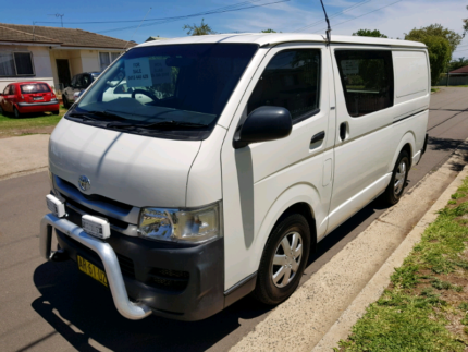 2007 TOYOTA HIACE MANUAL PETROL NOV 2019 REGO Cabramatta Fairfield Area Preview