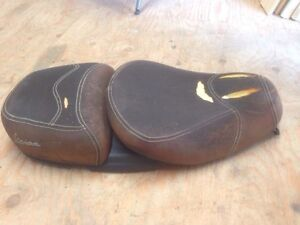 Vespa LXV150 2-part leather seat/saddle