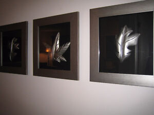 Decorative wall design picture frames
