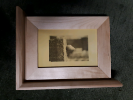 Book Ends with a photo frame 6x4