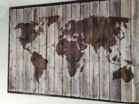 IKEA giant atlas / globe canvass (like new)