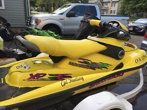 1998 Seadoo XP 2 Stroke with ownership.