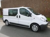 2012 Vauxhall VIVARO 2900 CDTI D/CAB SWB COMBI VAN Manual Minibus
