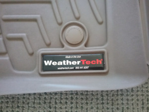 Weather Tech Mats