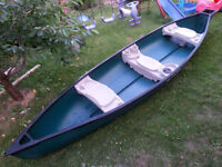 15.6' WATER QUEST CANOE FOR SALE
