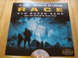 The Amazing Race DVD Interactive GAme.