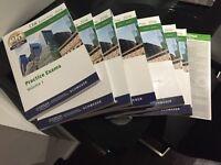 2016 Schweser CFA level 1 texbooks and mock exam textbooks