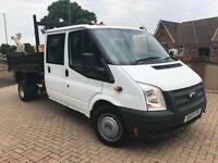 2013 13 Reg Ford Transit 2.2TDCi 100PS Double cab NO VAT TO PAY