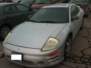 2003 Mitsubishi Eclipse GS Coupe (2 door) ETESTED, MUST GO!