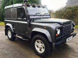 1997 Land Rover Defender 90 300Tdi, Gun Metal Grey, Only 81,000 miles.