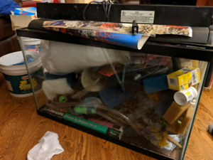 Complete 28 & 20 gallon aquariums and supplies